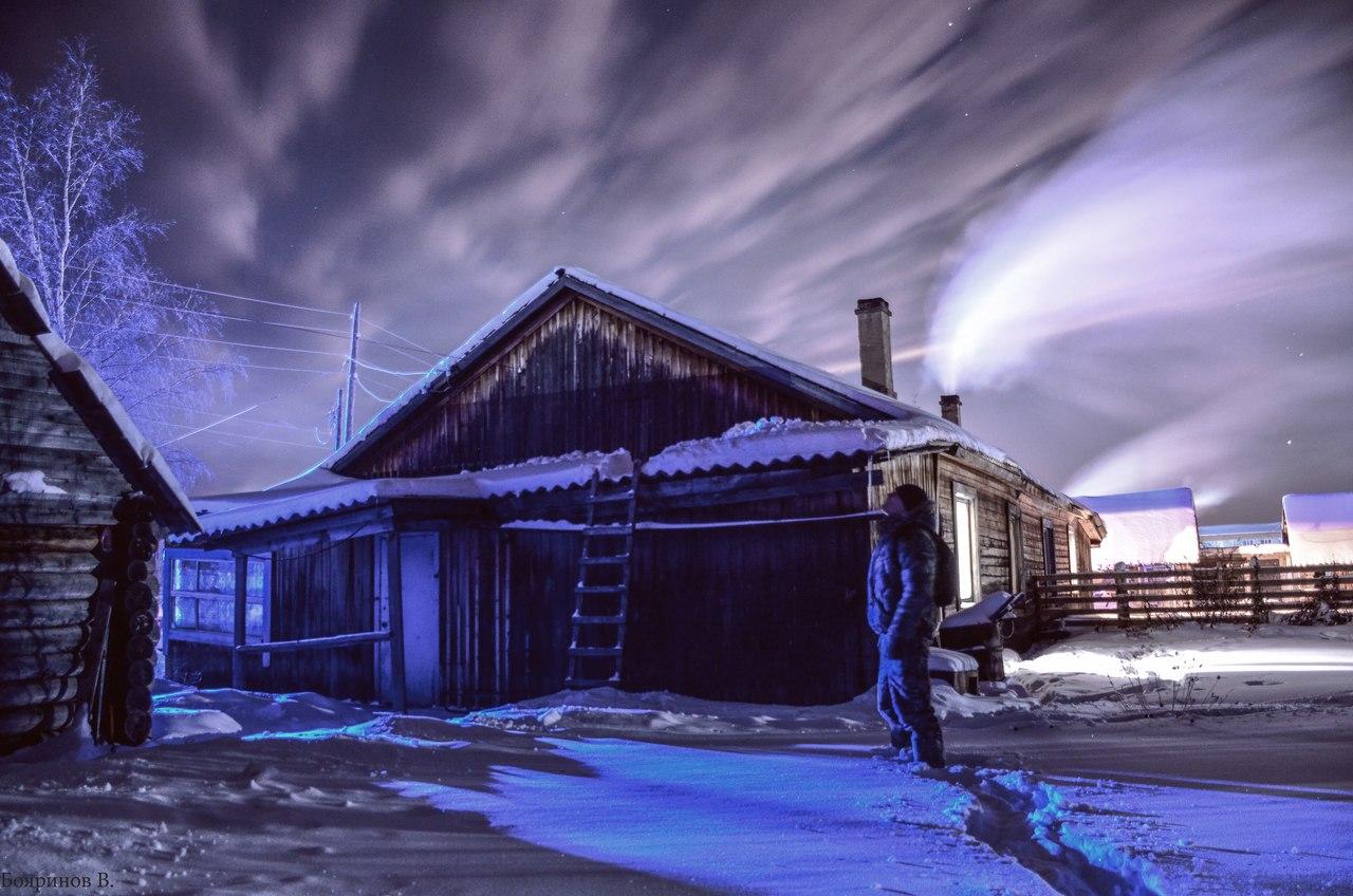 Томская область, поселок Сайга, фото