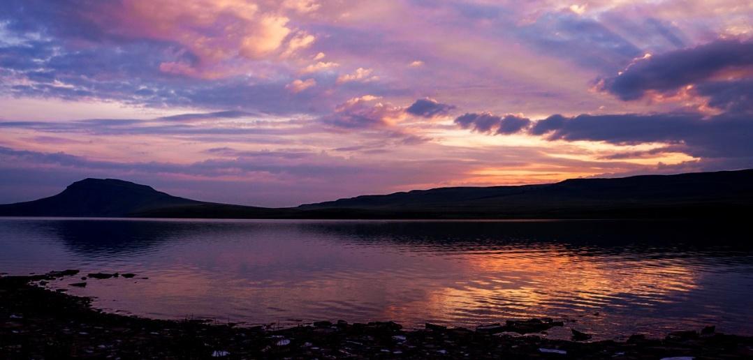 Озеро Малое Белё, республика Хакасия, фото