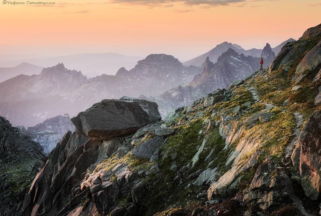 Перевал Птица, Ергаки, Красноярский край, Фото