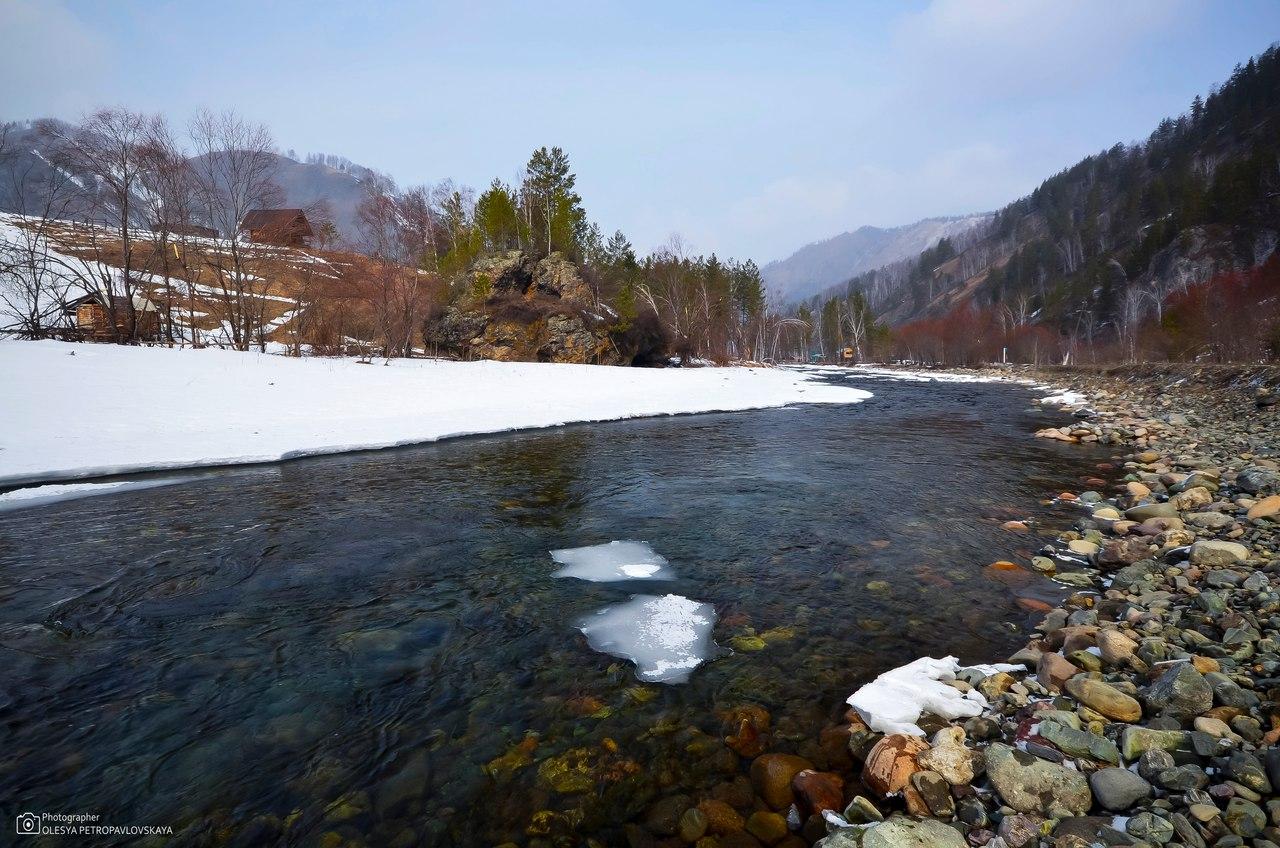 река Чемал, Горный Алтай, фото