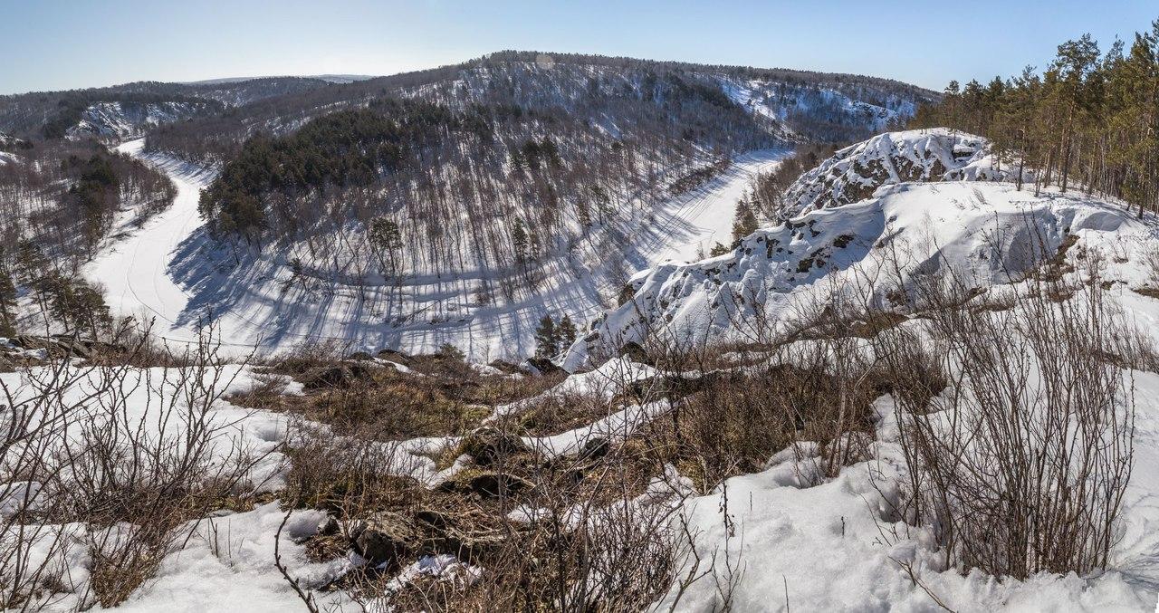 Новосибирская область, Бердские скалы, фото