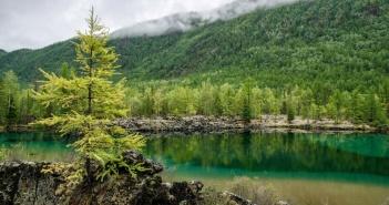 Изумрудное озеро, Бурятия, Фото
