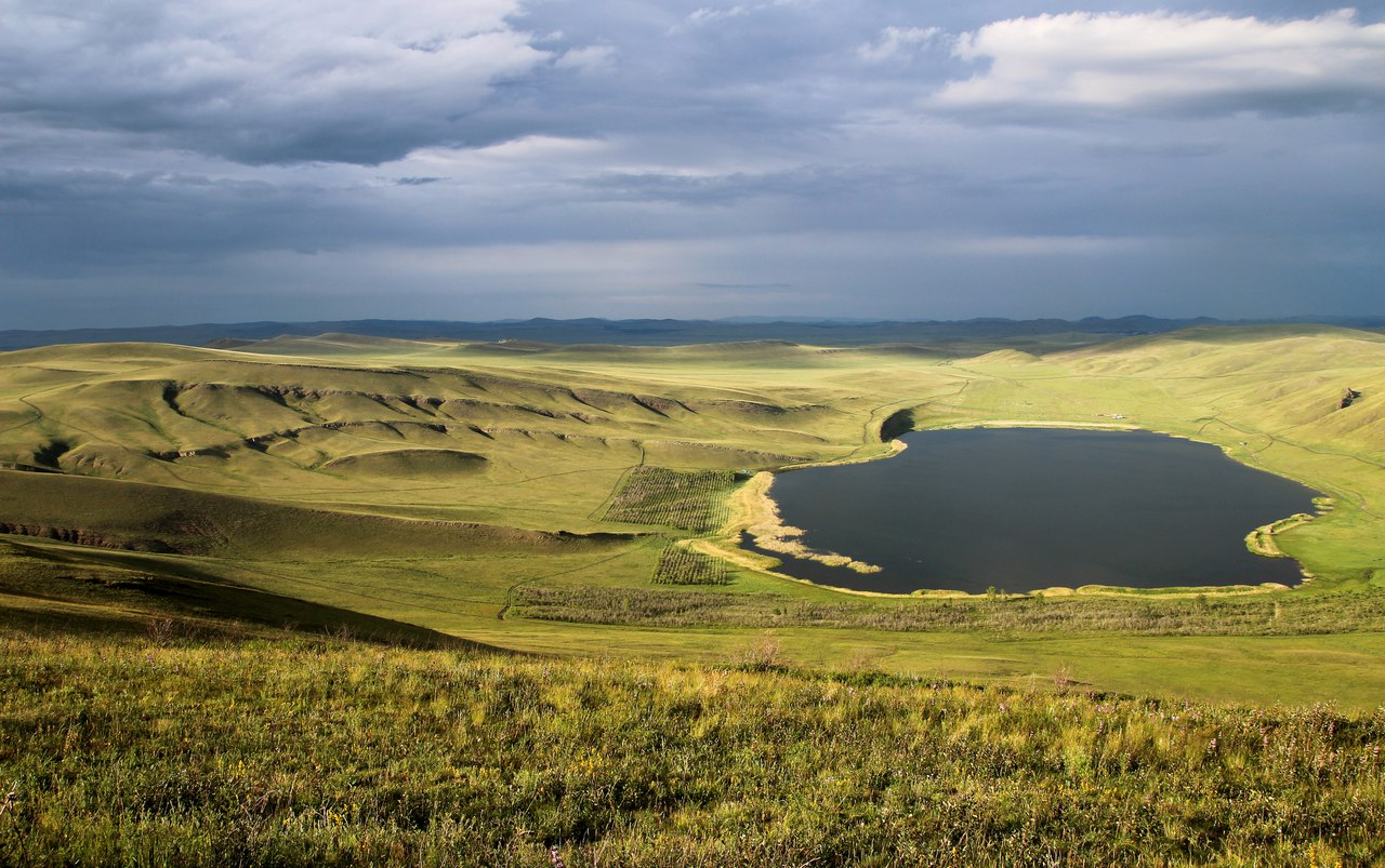 Хакасия, озеро Шунет, фото