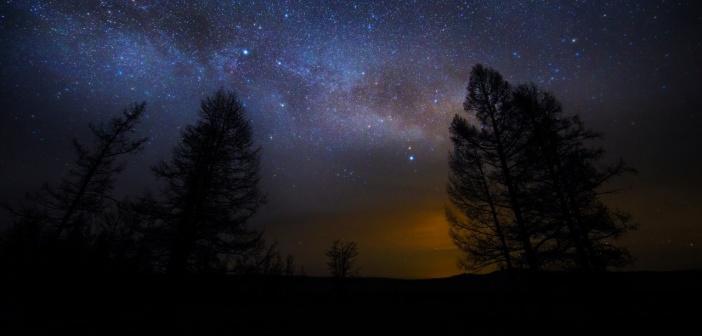 Взгляни на небо, посмотри какая там красота!  Забайкальский край, фото: Анатолий Мишаков