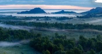 Горная Колывань, утро Фото: Валентина Кобзева