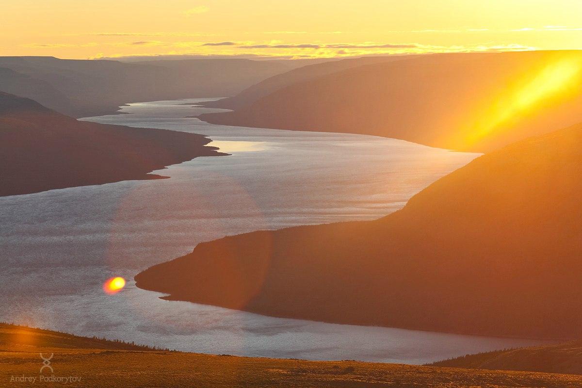 Озеро Аян, плато Путорана, Фото