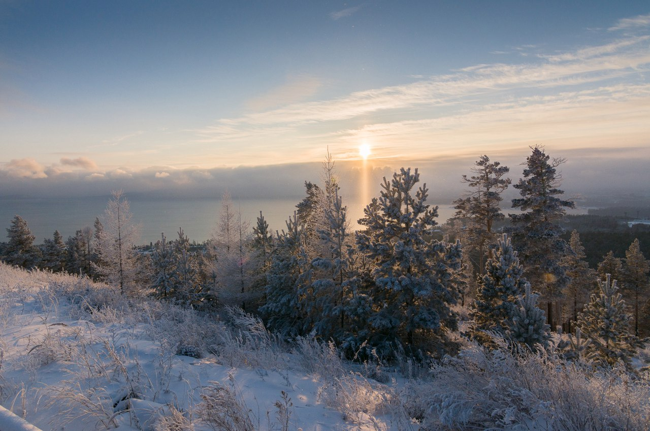 Иркутская область, Братское море, Братск, фото