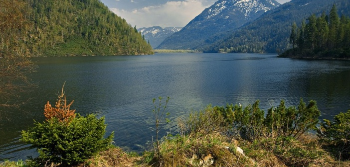 Озеро Соболиное, Бурятия.  Автор: Александр Рютин