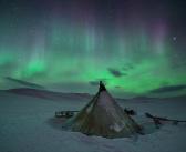 Феерия полярной ночи!  ЯНАО, фото: Светлана Горбатых