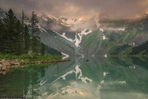 Алтай, Катунский хребет, Озеро Верхнее Мульинское, Фото