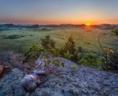 Рассвет в Горной Колывани Фото: Валентина Кобзева