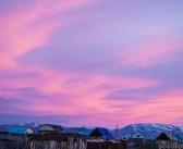 Закат в Кош-Агаче, Горный Алтай.   фото: Ольга Созорова