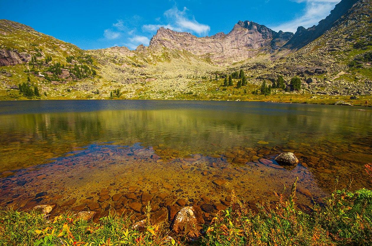 Ергаки, Озеро Мраморное, фото