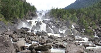 Горный Алтай, Долина Чулышман, Водопад УЧАР, фото