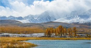 Республика Алтай, Курайская степь, Ештыкколь, Джангысколь, Северо-Чуйский хребет, Куркурек, Фото