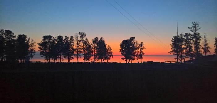 Закат в Турке, Бурятия   фото: Арман Швец