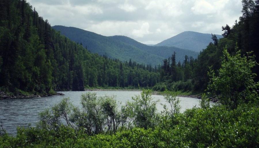 Река Агул, фото