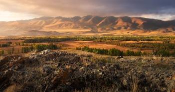 Курайская степь, Алтай, Фото