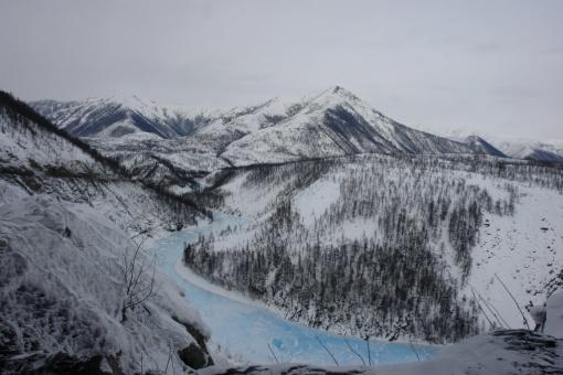 Верхоянский хребет, Якутия, фото