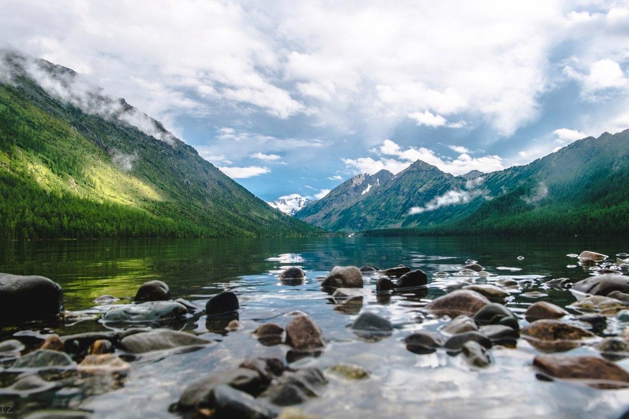 Нижнем Мультинском, Алтай, Фото