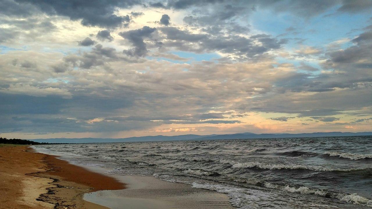 Баргузинский залив, фото