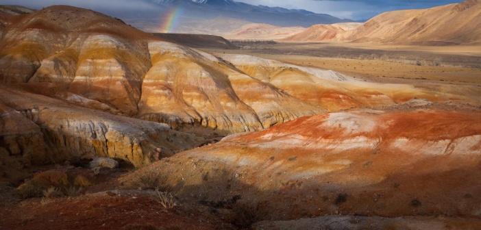Радуга на «Марсе»  Кызыл-Чин, Алтай Фото: Андрей Васильченко