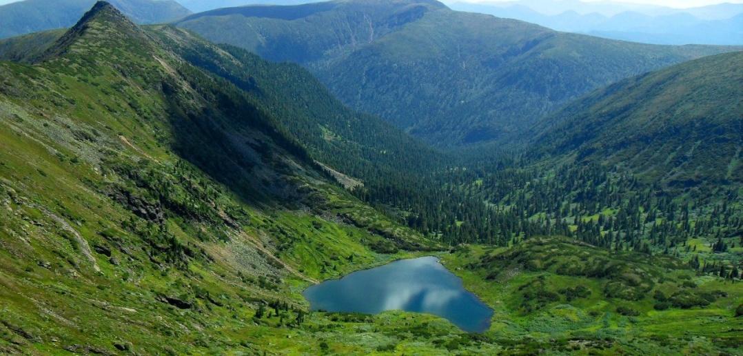 Озеро Сердце, Байкал, Хамар-Дабан, фото