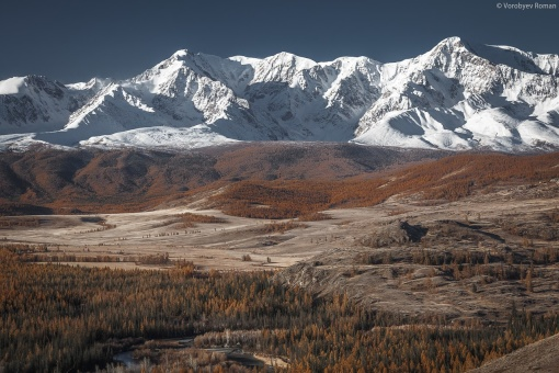 Северо-Чуйским Хребтом, Алтай, фото