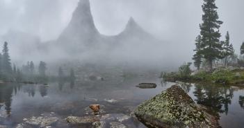 Озеро Художников, Ергаки, фото