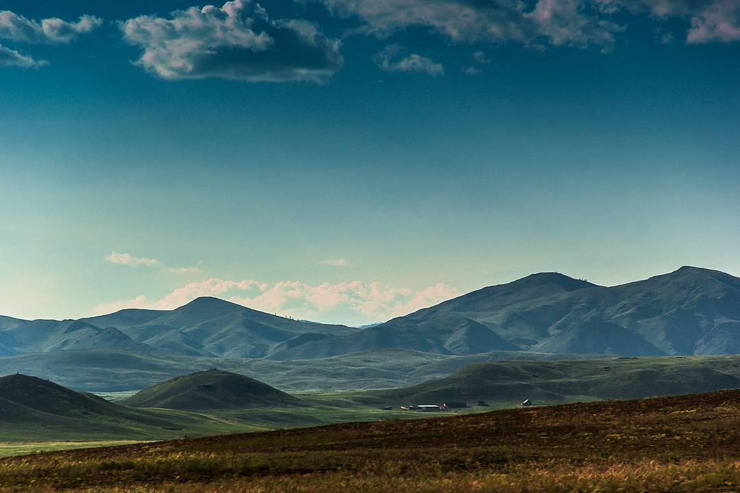 Тувинские пейзажи, Фото