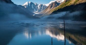 Утро у ледника Маашей   фото: Мария Шевченко