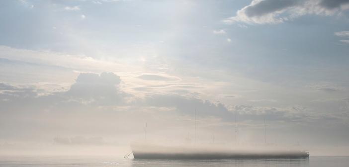 Раннее утро на реке Енисей, Красноярский край  Фото: Дмитрий Овчинников
