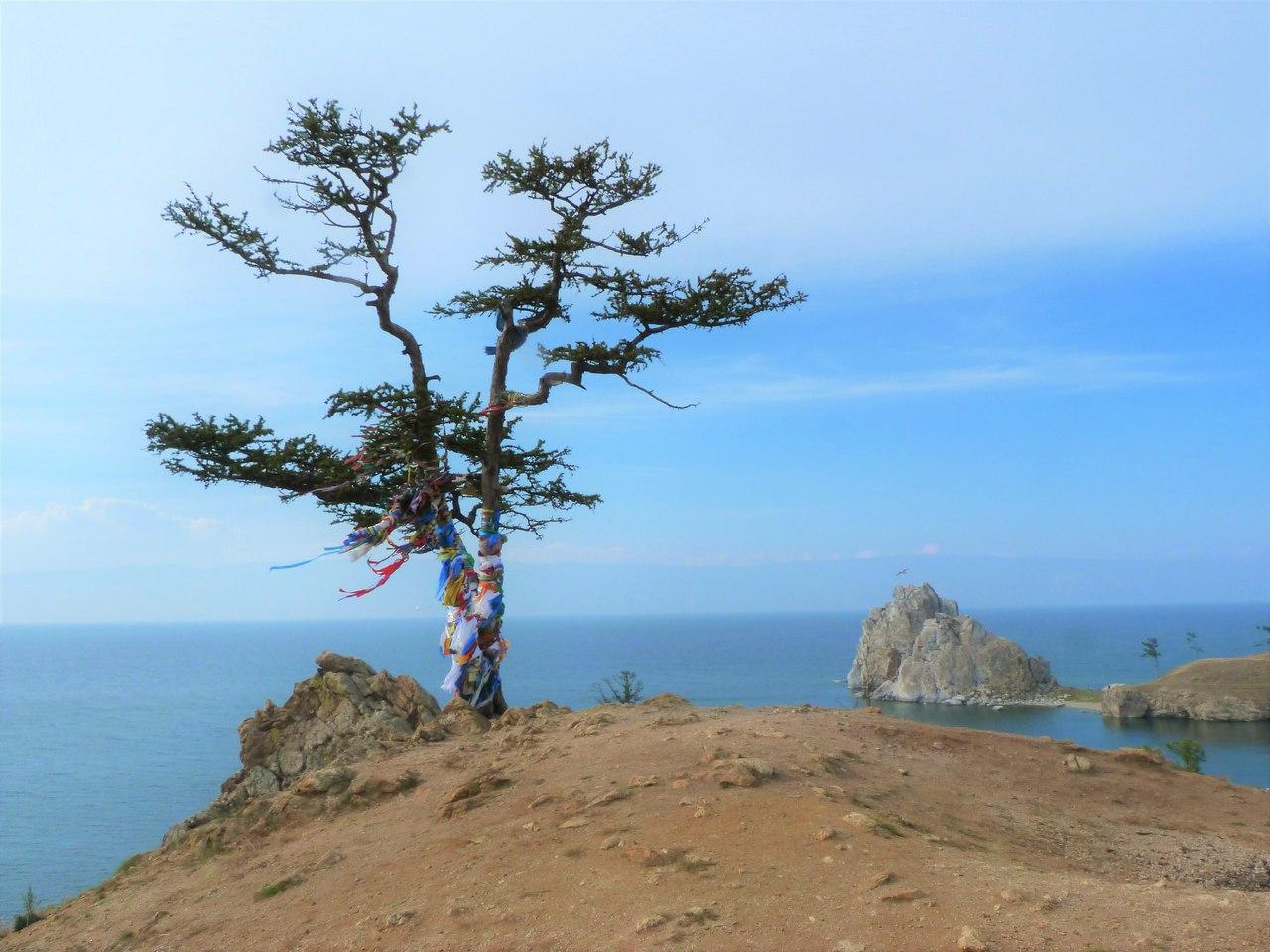 Остров Ольхон, скала Шаманка, фото