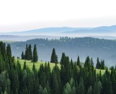 Кемеровская область, Таштагол. Вид от телебашни.  Фото: Илья Рудзис