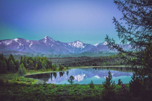 Озеро Киделю, Улаганский перевал, Алтай, Фото