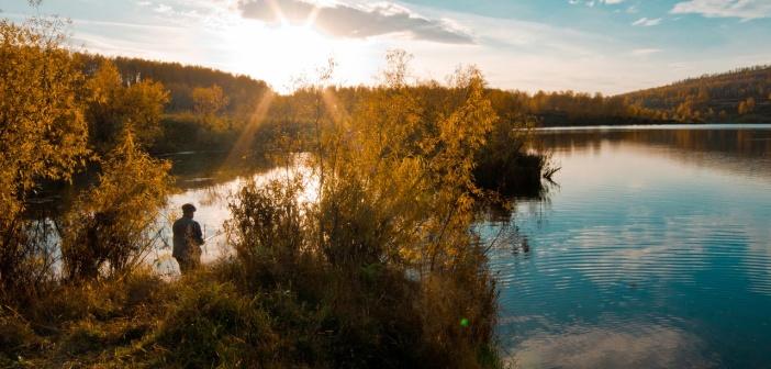 г.Шарыпово. Озеро Ашпыл.   фото: Татьяна Ширякова