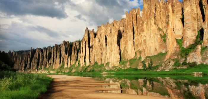 Республика Саха (Якутия), река Синяя (Сиинэ) Фото: Ваган Михаил