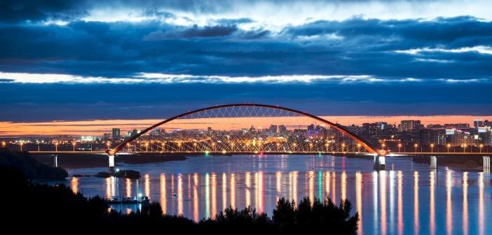 Бугринский мост, Новосибирск фото: Слава Степанов
