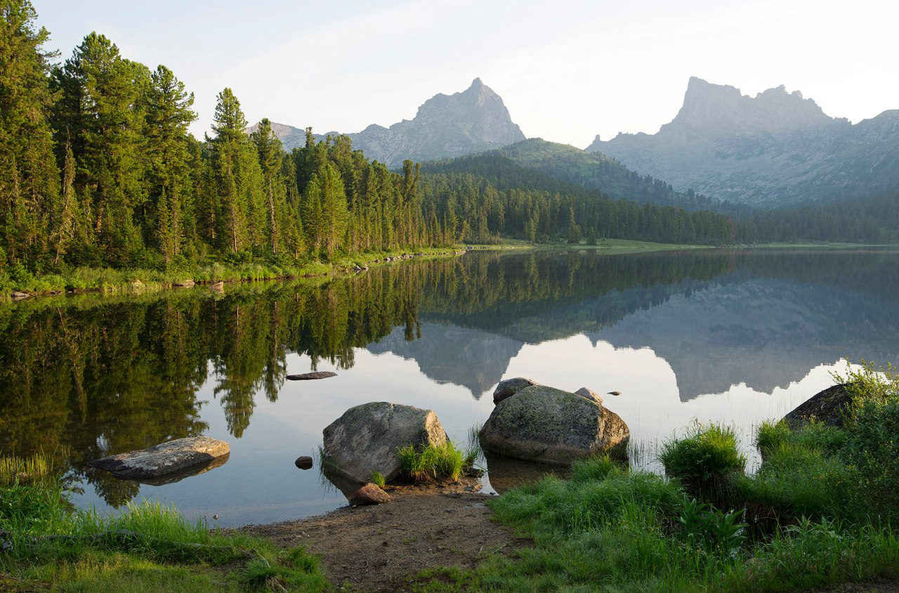 озере Светлом, Ергаки, Фото