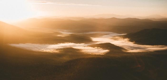 Восход в Шерегеше Фото: Кирилл Лазарев