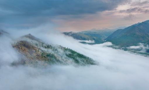Местность озера Тунэрндэ, Наледный, Томпонский район, Республика Саха, Якутия, Фото