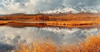 Северо-Чуйский хребет, Джангысколь, Курайской степи, Алтай, Фото