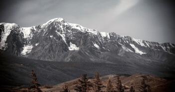 Республика Алтай, Курайская степь, Актру, Фото
