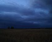 Ночь над полем Сухобузимского района. Красноярский край.   фото: Илья Полуночный