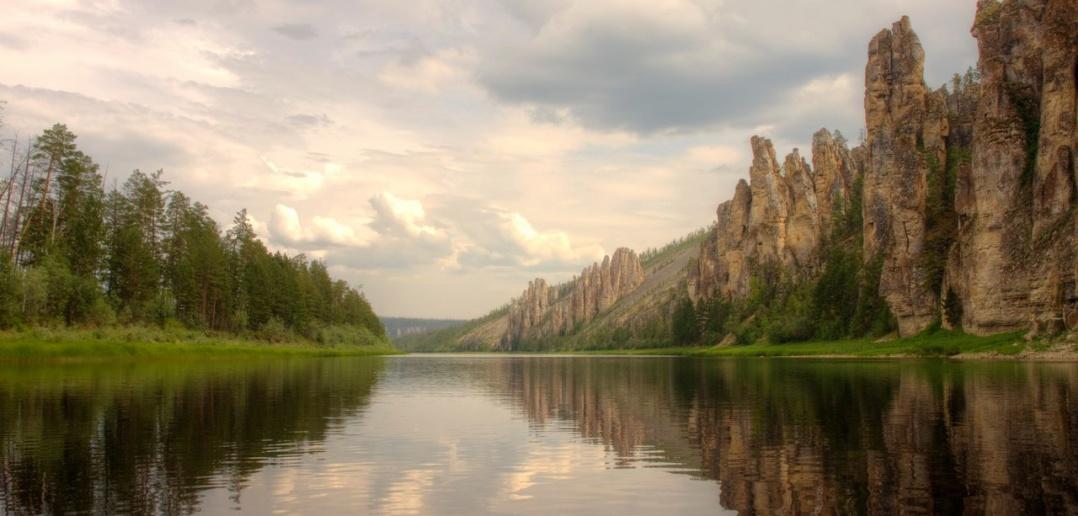 Республика Саха, Якутия, река Синяя, Фото