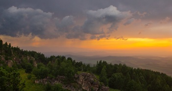 Алтайский закат, Бабырган, Фото
