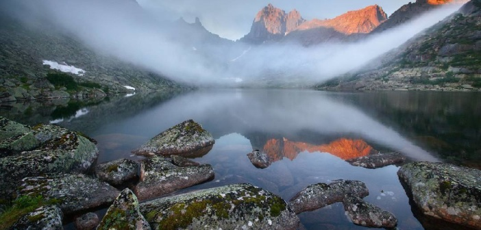 Утро на озере Горных Духов, Ергаки, Красноярский край Фото: instagram spirit120