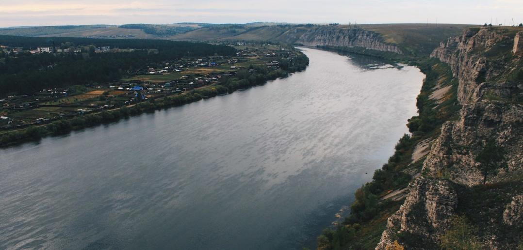 река Белая, Холмушино, Усольский район, Иркутская область, фото