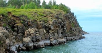 Мыс Бык, Братское водохранилище, Иркутская область, фото