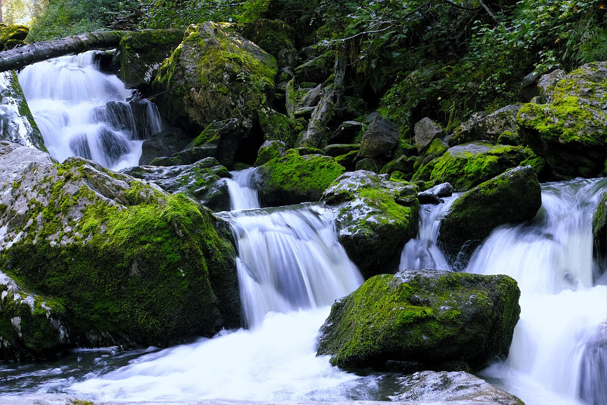 Ойрокские водопады, Телецкое озеро, фото